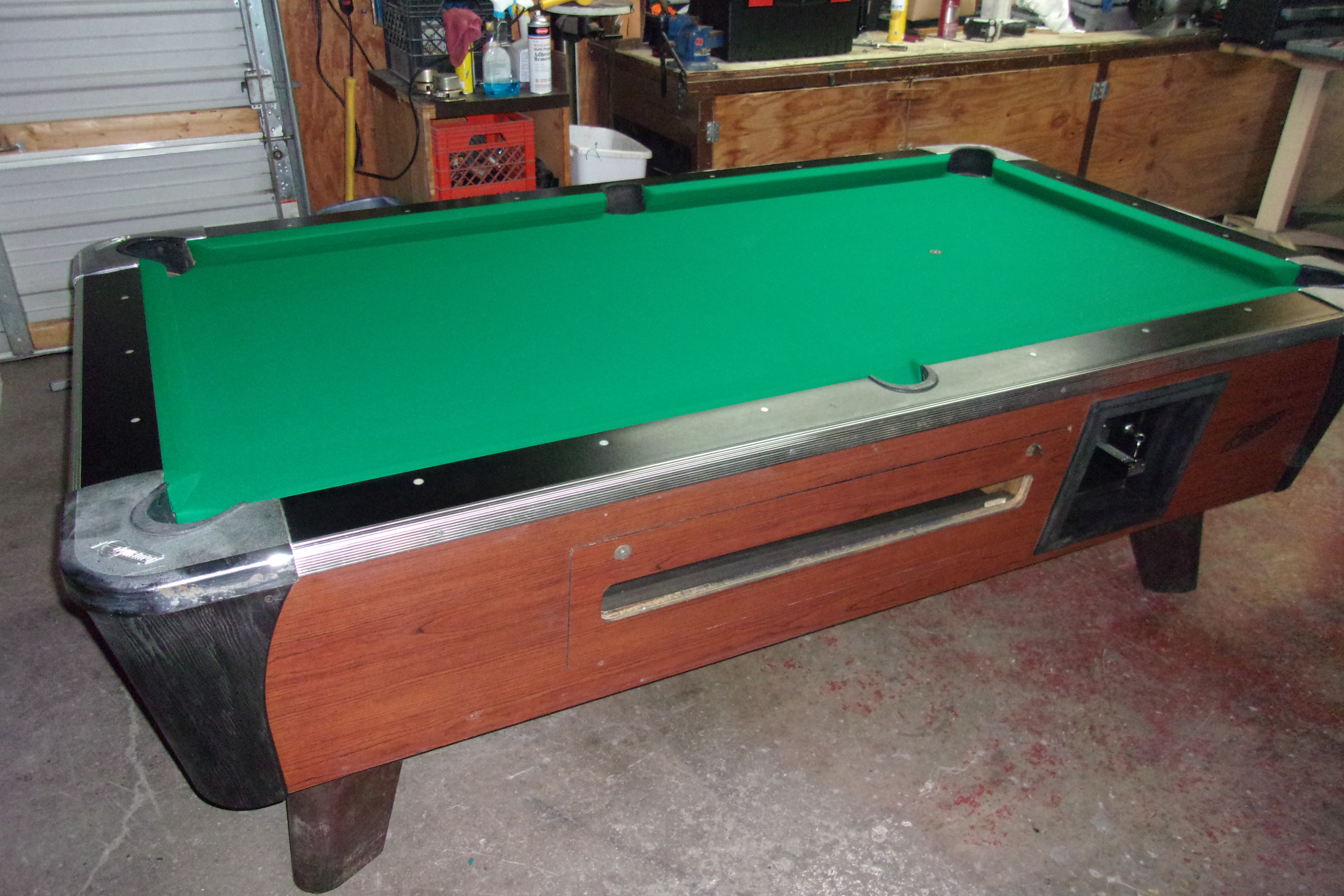 Dynamo Ft Coin Op Pool Table PT Thomas Games - Pool table description