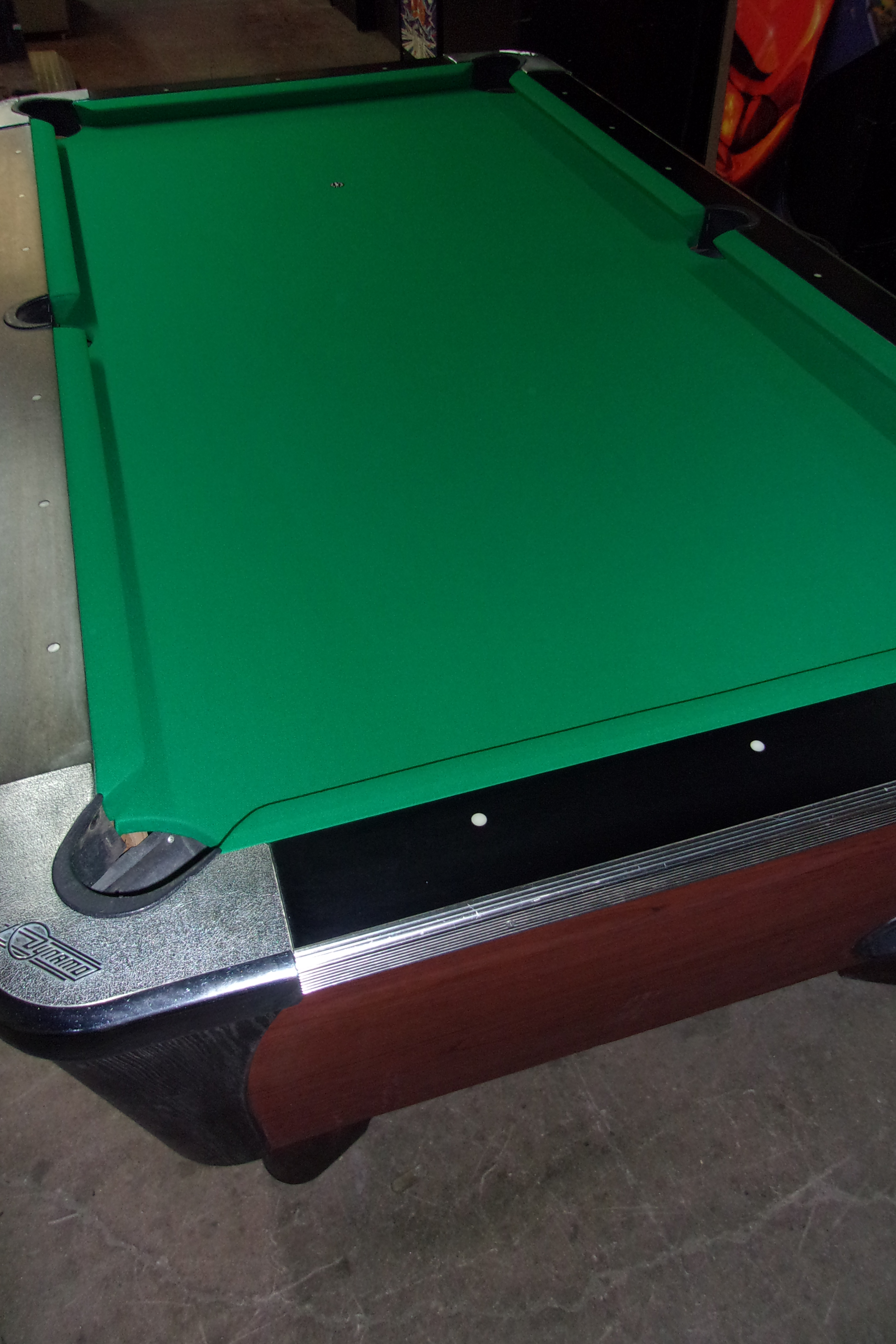 Dynamo Ft Coin Op Pool Table PT Thomas Games - Dynamo coin operated pool table
