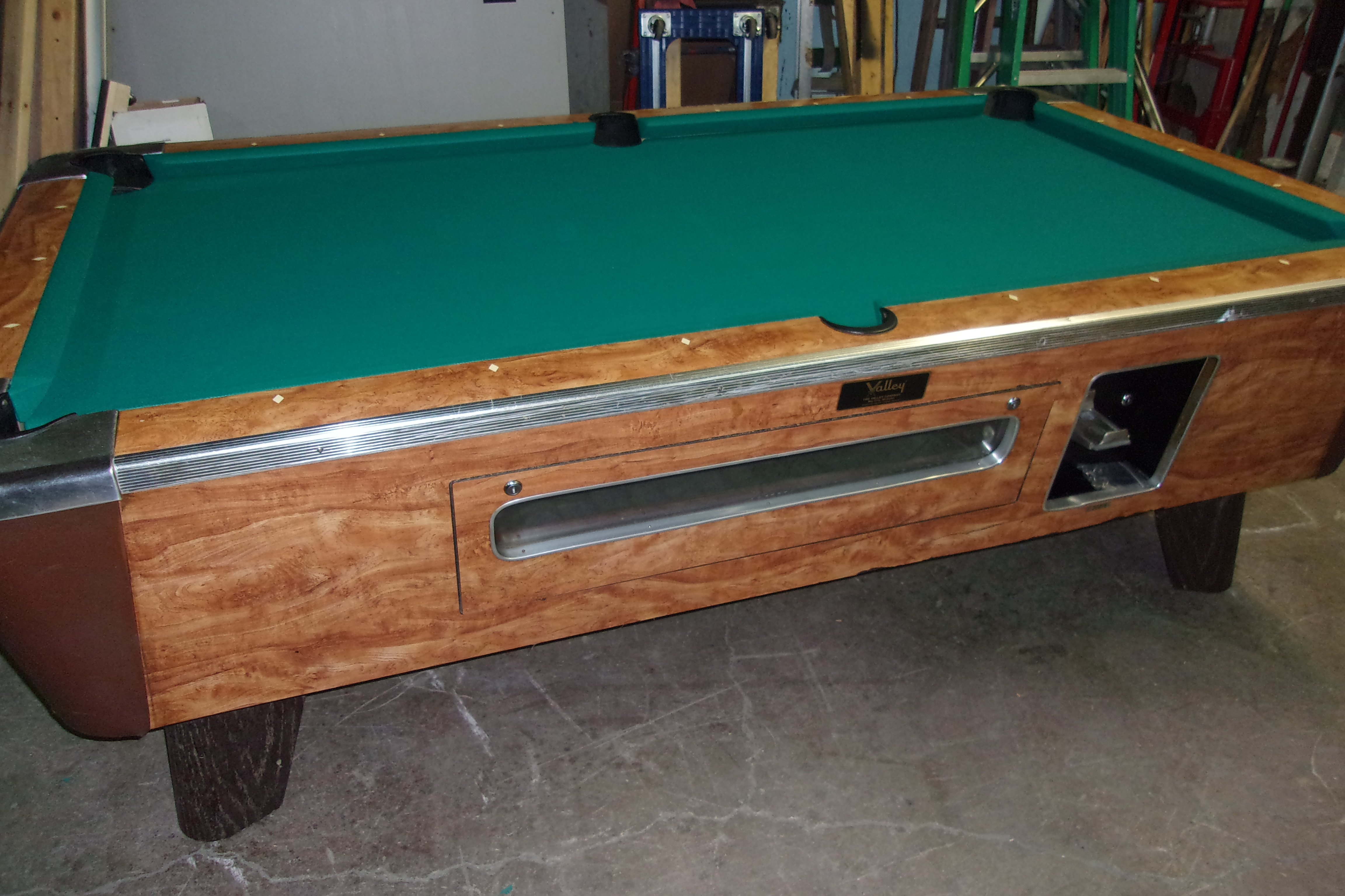 Valley Coin Op Pool Table Parts Best Home Interior - Coin operated pool table parts