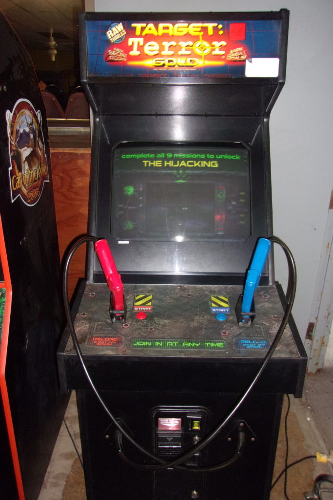 Target terror arcade game for sale