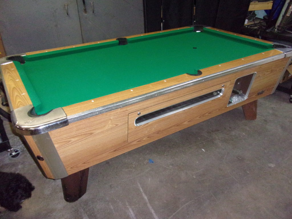 coin op pool table for sale